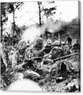Marines In Okinawa Canvas Print