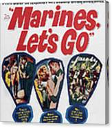Marines, Lets Go, Us Poster, 1961, Tm & Canvas Print
