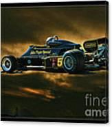 Mario Andretti John Player Special Lotus 79  Canvas Print