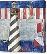 Maritime Lighthouse II Canvas Print