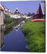 Marken Canal Canvas Print