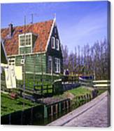 Marken Village Architecture Canvas Print