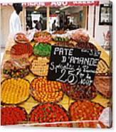 Market Day, Nice Canvas Print