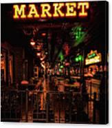 Market On Houston Canvas Print