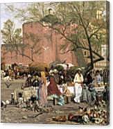 Market Plaza Canvas Print