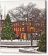 Market Square Christmas - 2013 Canvas Print