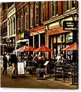 Market Square - Knoxville Tennessee Canvas Print