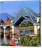 Market Street Bridge Rising Canvas Print