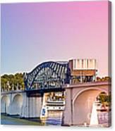 Market Street Bridge Canvas Print
