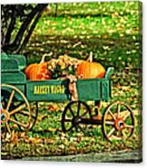 Market Wagon Canvas Print