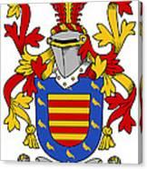 Marlay Coat Of Arms Irish Canvas Print