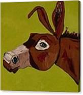 Marlene The Mule Canvas Print