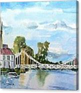 Marlow On Thames 2 Canvas Print
