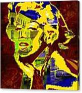 marlyn goes to Venice  Canvas Print