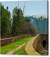 Marnel Medieval Bridge Canvas Print