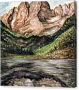 Maroon Bells Colorado - Landscape Canvas Print