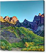 Maroon Bells National Recreation Area Canvas Print