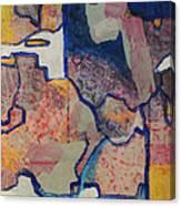 Maroon Scarf Canvas Print