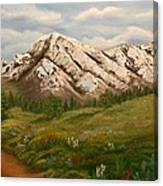 Maroon Trail Splendor Canvas Print
