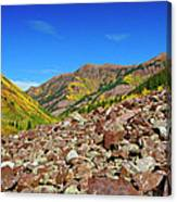 Maroon Valley Canvas Print