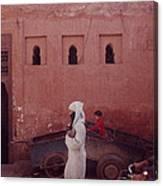 Marrakesh Life Canvas Print