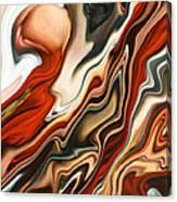 Mars Meets Venus 2 Canvas Print