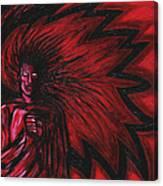 Mars Rising Canvas Print