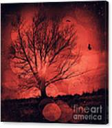Mars Tree Canvas Print