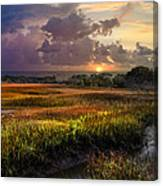 Marsh At Sunrise Canvas Print