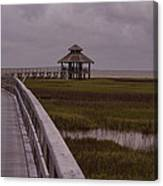 Marsh Boardwalk Canvas Print