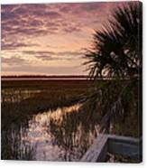 Marsh Dock Canvas Print