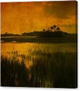 Marsh Island Sunset Canvas Print