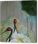 Marsh Morning Frame 1 Canvas Print