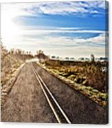 Marsh Road Canvas Print