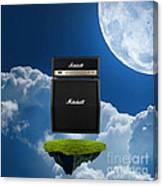Marshall Amp Canvas Print