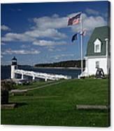 Marshall Point Lighthouse Canvas Print