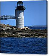 Marshall Point Surrounded By Blue Canvas Print