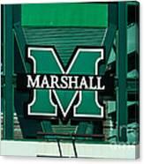 Marshall University Canvas Print