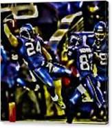 Marshawn Lynch Crotch Grab Canvas Print
