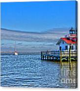 Marshes Lighthouse Canvas Print