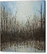 Marshy Parallels Canvas Print