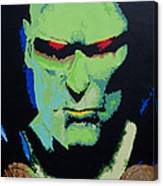 Martian Manhunter - A Close Encounter Canvas Print