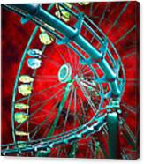 Martian Rides Canvas Print