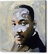 Martin Luther King Canvas Print