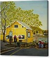 Martine's Riverhouse Canvas Print