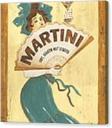 Martini Dry Canvas Print