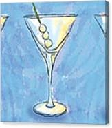 Martini Lunch Canvas Print