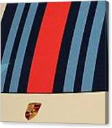 Martini Porsche Canvas Print
