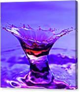 Martini Splash Canvas Print