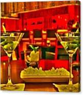 Martini Time Canvas Print